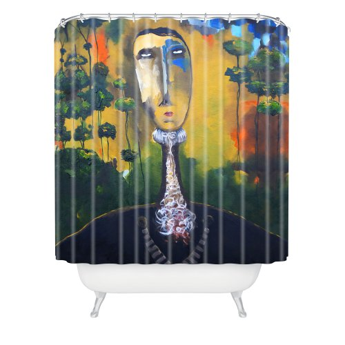 Forest Gate - Deny Designs Robin Faye Gates Forest For Trees Shower Curtain, 69