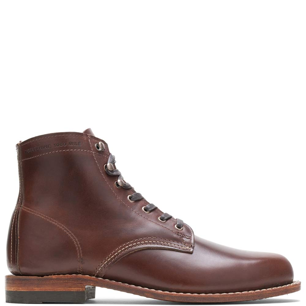 Wolverine Men's 1000 Mile Fashion Boot, Brown Leather, 6.5 D US by Wolverine