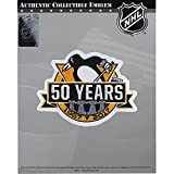 2017 NHL Pittsburgh Penguins 50th Anniversary Official Hocke Jersey Patch