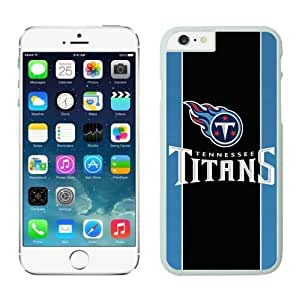NFL iPhone 6 4.7 Inches Case Tennessee Titans White iPhone 6 Cell Phone Case HGEROVFD4432