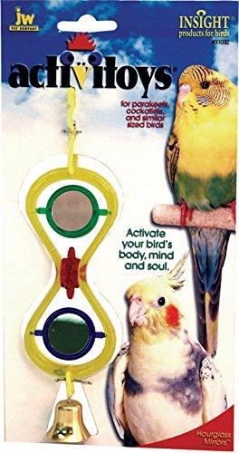Spinning Mirrors Bird Toy - Jw - Small Animal/bird -(Case of 144
