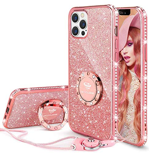 OCYCLONE Compatible for iPhone 12 Pro Max 6.7 inch Diamond Case