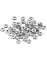 uxcell Self -Clinching Nuts,#8-32x3.05mm Stainless Steel Rivet Nut Fastener 100pcs