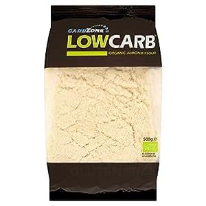 Amazon.com : Carbzone Low Carb Organic Almond Flour 500g