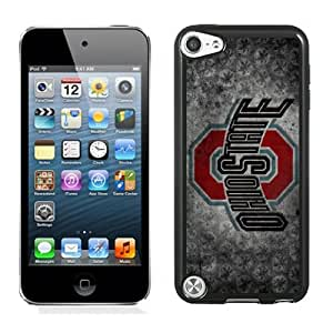 Popular And Durable Designed Case With Ncaa Big Ten Conference Football Ohio State Buckeyes 22 Protective Cell Phone Hardshell Cover Case For iPod Touch 5 Phone Case Black