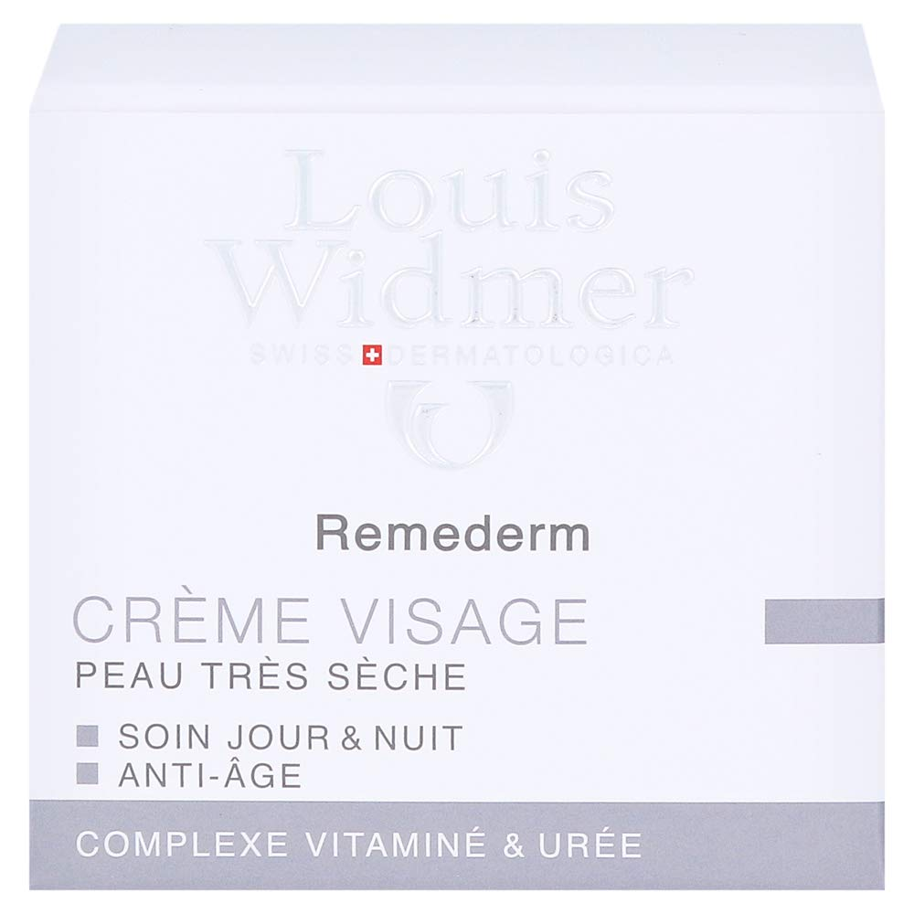 Louis Widmer Remederm Face Cream for Very Dry Skin Day and Night Care Anti-ageing Scented 50 ml