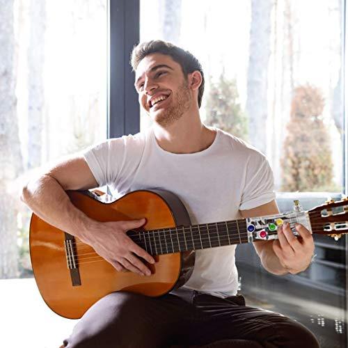 TwoCC Système d'apprentissage de la guitare Enseignant des leçons pratiques d'aide avec des médiators