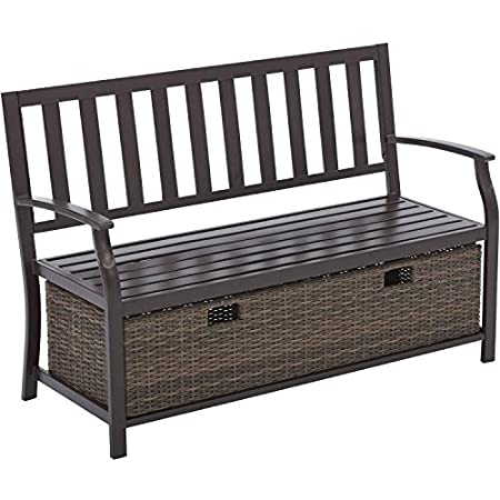 51A011HrcWL._SS450_ Wicker Benches and Rattan Benches