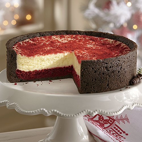 Red Velvet Cheesecake from The Swiss Colony