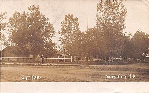 City Par Tower City, North Dakota postcard]()