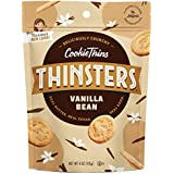 Thinsters Cookie Thins, Cake Batter/Vanilla Bean, Non GMO, Peanut Free, 4 Ounce Bag, Pack of 12 (Packaging May Vary)