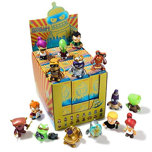 Kidrobot Futurama Universe X Collection - Case of 24 Blind Boxes