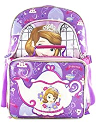 Sofia the First 16 Backpack w Lunch Box