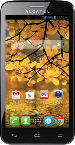 Alcatel One Touch Fierce T-Mobile 4G Android Smartphone - Silver/Slate