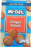 Mi-Del Gluten Free Cookies, Swedish Ginger Snaps, 8