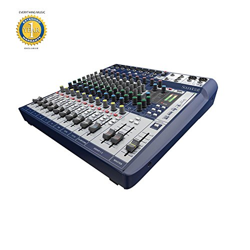 Soundcraft Series - Soundcraft Signature 12 12-Input Mixer with Effects and 1 Year EverythingMusic Extended Warranty Free