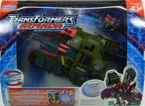 (Transformers Armada Megatron & Leader 1)
