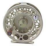 TICA T 208R T208 Large Arbor Fly Reel, 20-Test/70 yd, Silver Review