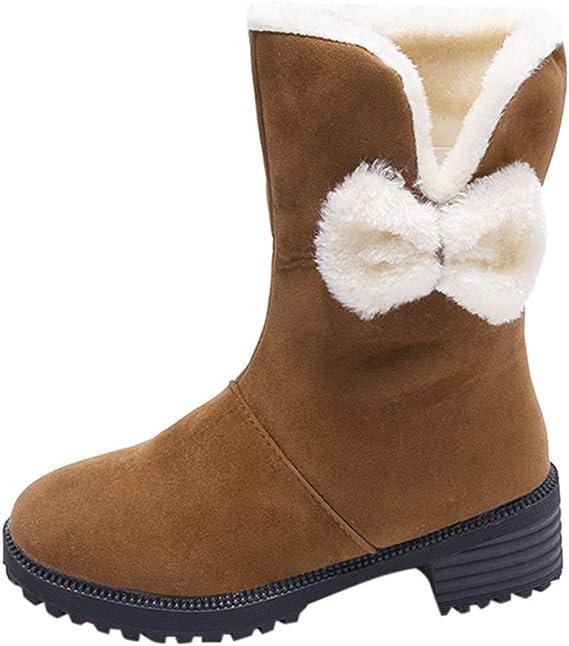 Luckycat Zapatillas de Estar por Casa Mujer Bota Pantuflas ...