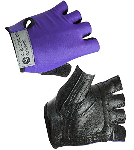 Child Bike Gloves in Purple X-Large (10-12)