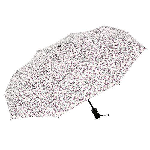 - lingchangyoushangmao Automatic Umbrella, rain and rain Umbrella, Folding Sunshade, Sun Protection, UV Umbrella Automatic Wind Chime Pollen Without Glue