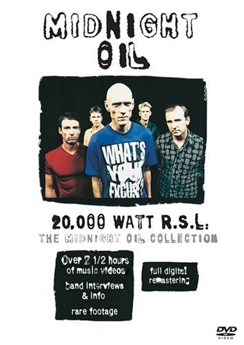 20,000 Watts Rsl: The Midnight Oil Collection [DVD] B00006AUHL