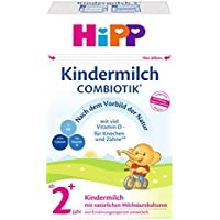 HiPP Kindermilch ComBiotik 2+ Jahr, 4er Pack (4 x 600 g)