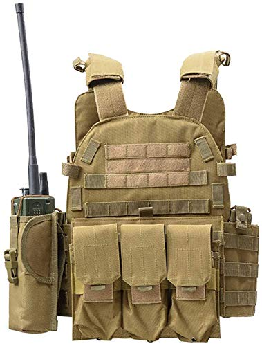 DMAIP Hunting Molle Tactical Vest Combat Security Training Tool Pouch