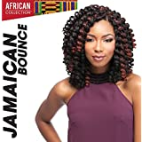 "4 Packs Deal!!! JAMAICAN BOUNCE 26"" (2 Dark Brown) - Sensationnel African Collection Crochet Braid"