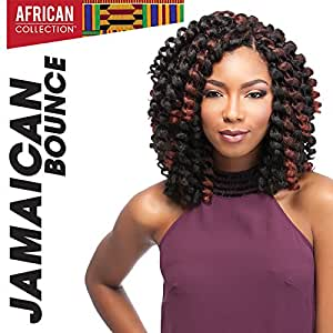 "4 Packs Deal!!! JAMAICAN BOUNCE 26"" (4 Med.Brown) - Sensationnel African Collection Crochet Braid"