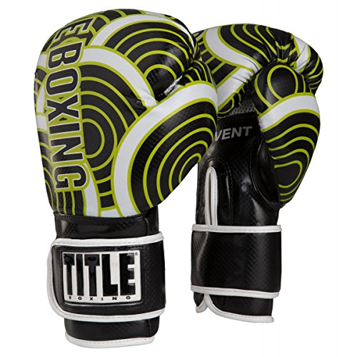 TITLE Infused Foam Engage Boxing Gloves (Lime, (Title Boxing Foam Boxing Gloves)
