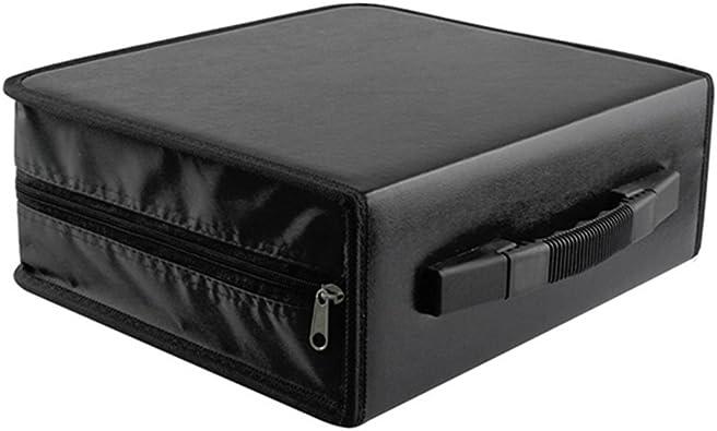 PIXNOR - Caja organizadora para álbumes de DVD y CD de 288 discos ...