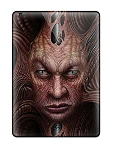 Waterdrop Snap-on Demon Face Fantasy Abstract Fantasy Case For Ipad Air