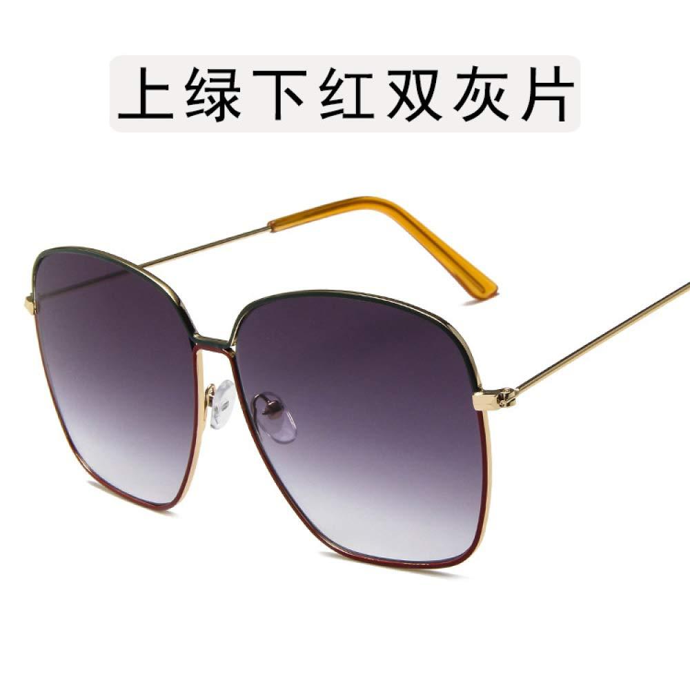 Yangjing-hl Gafas ultraligeras de Metal Caja Grande Gafas de ...