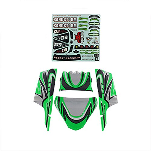 Lexan Racing (Redcat Racing Lexan Body Panels, Green)