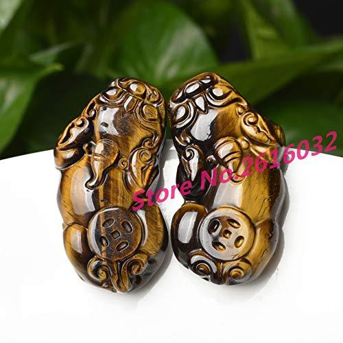 ZAMTAC Natural Jade Pendant Pendant Manufacturers Genuine Men and Women Brave Tiger Jade Pendant