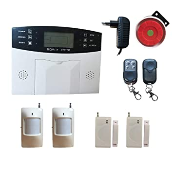 gsm Home Alarm System, Wireless House Security Alarm ...