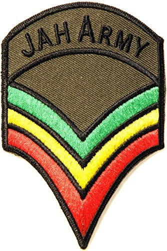 JAH ARMY Military Chevron The Lion of Judah