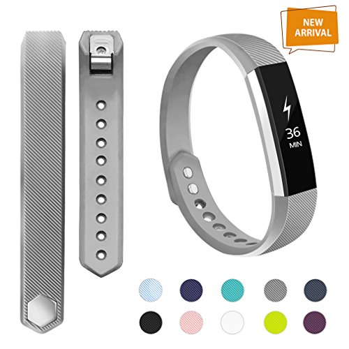 POY AdePoy Fitbit Alta Bands and Fitbit Alta HR Bands, Small Large Replacement Wristband Sport Bands for Fitbit Alta HR and Fitbit Alta Almost Every Outfit