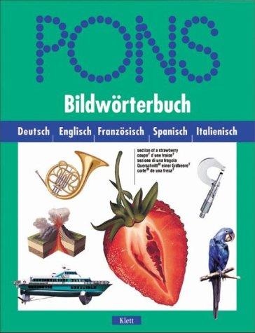 PONS Bildwörterbuch, Deutsch-Englisch-Französisch-Spanisch-Italienisch