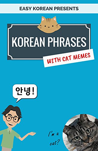 Korean phrases with cat memes phrasebook for travelers and korean phrases with cat memes phrasebook for travelers and beginners easy korean by m4hsunfo