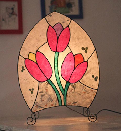 Lamp with tulips by The Lamps of Nikolay Tabakov