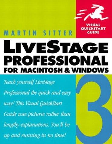 LiveStage Professional 3 for Macintosh and Windows (Visual QuickStart Guide) pdf