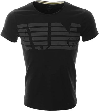 Armani Jeans Men's Slim Fit Navy Blue T-Shirt