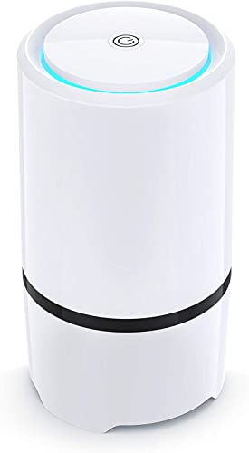 Net-Dyn Air Purifier – USB Air Filter, HEPA Filtration and Small Personal Desktop Home Air Cleaner for Eliminating Harmful Allergens, Bacteria, Allergies and Pets
