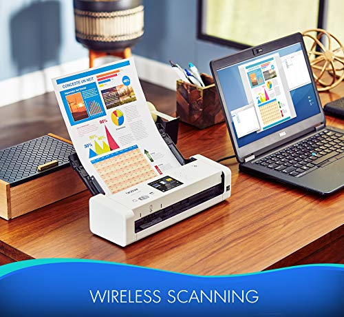 Brother Wireless Compact Desktop Scanner, ADS-1700W, Fast Scan Speeds, Easy-to-Use, Ideal for Home, Home Office or On-the-Go Professionals by Brother (Image #4)