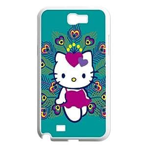 Hello-Kitty Samsung Galaxy N2 7100 Cell Phone Case White E0585442