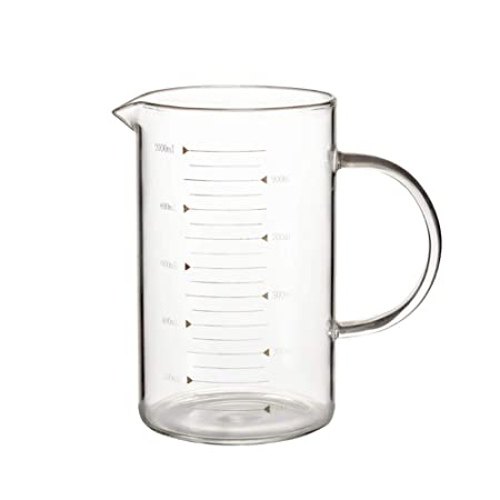 Vaso de vidrio de borosilicato resistente al calor, grueso ...