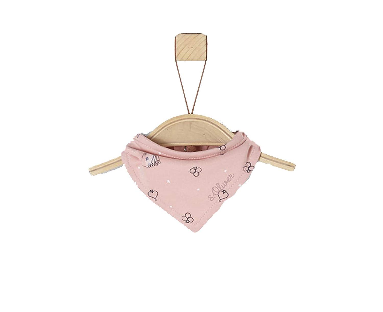s.Oliver Baby Tuch/Dreieckstuch / Halstuch Gr. 50-68 gemustert in rosa