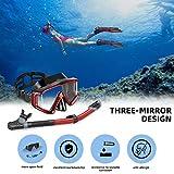 Ertong Scuba Diving Gear Swimming Combo Set